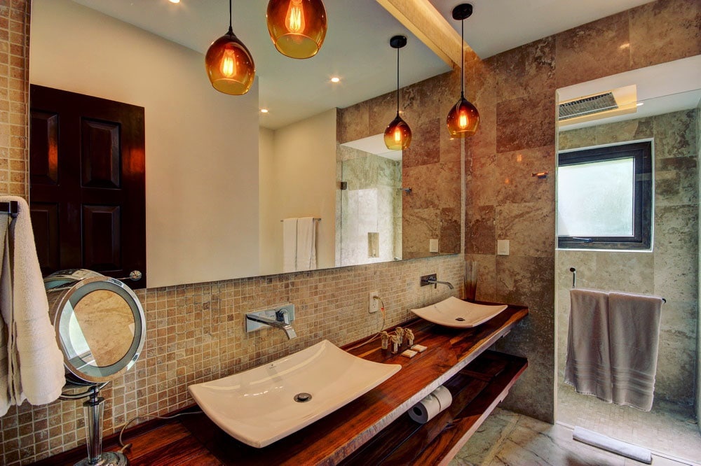 Bathroom of Suite 5 of Villa Única Playa del Carmen